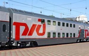 Маршрут поезда Адлер - Москва