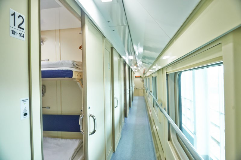 Фото поезда Адлер - Москва