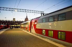 Маршрут двухэтажного поезда из Москвы до Адлера